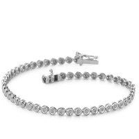 Bracelet or gris avec diamants-333584