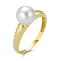 Ring Gold 750 mit Perle-348325