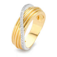 Ring Gold 750 mit Diamanten-348461