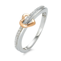 Bague Or 375 et diamants-348496
