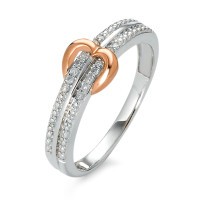 Bague Or 375 et diamants-348498
