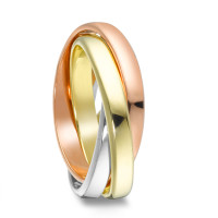Bague or 375 tricolore-350582