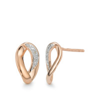 Boucles d'or. 375 or rose-357471