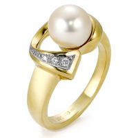 Bague Or jaune 750/18 ct.-520302