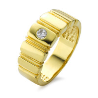 Bague Or jaune 750/18 ct. Diamant 0.25 ct-526568