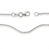 Chaînette Or blanc 750/18 ct. 45 cm Ø3.5 mm-536048