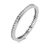 Memory Ring 750/18 K Weissgold Diamant 0.25 ct-536328