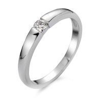 Bague solitaire Or blanc 750/18 ct.-540454