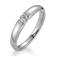 Bague solitaire Or blanc 750/18 ct.-540455