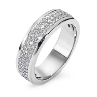 Bague Or blanc 750/18 ct. Diamant 0.75 ct-546474