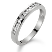 Memory Ring 750/18 K Weissgold Diamant 0.20 ct-549975