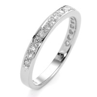 Memory Ring 750/18 K Weissgold Diamant 0.33 ct-558202