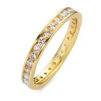 Bague memory Or jaune 750/18 ct. Diamant 0.65 ct-558212