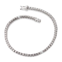 Armband 750/18 K Weissgold Diamant 2.673 ct 18 cm-563333
