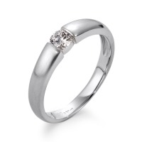 Bague solitaire Or blanc 750/18 ct. Diamant 0.30 ct-563473