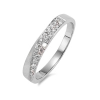 Bague Or blanc 750/18 ct. Diamant 0.22 ct-563514
