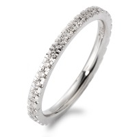 Memory Ring 750/18 K Weissgold Diamant 0.269 ct-563536