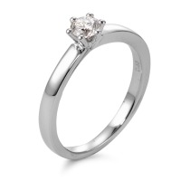 Bague solitaire Or blanc 750/18 ct. Diamant 0.25 ct-566105