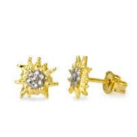 Clous d'oreilles Or jaune 375/9 ct. Ø7.5 mm-569297