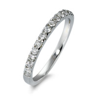 Bague memory Or blanc 585/14 ct. Diamant 0.25 ct-570603