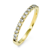 Bague memory Or jaune 585/14 ct. Diamant 0.25 ct-570604