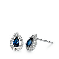 Clous d'oreilles Or blanc 750/18 ct. 0.21 ct