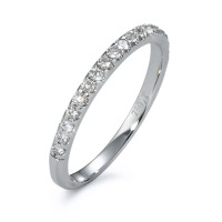 Memory Ring 750/18 K Weissgold Diamant 0.24 ct-570823