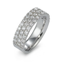 Fingerring 750/18 K Weissgold Diamant 1.24 ct-570855