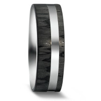 Partnerring Silber, Carbon-579998