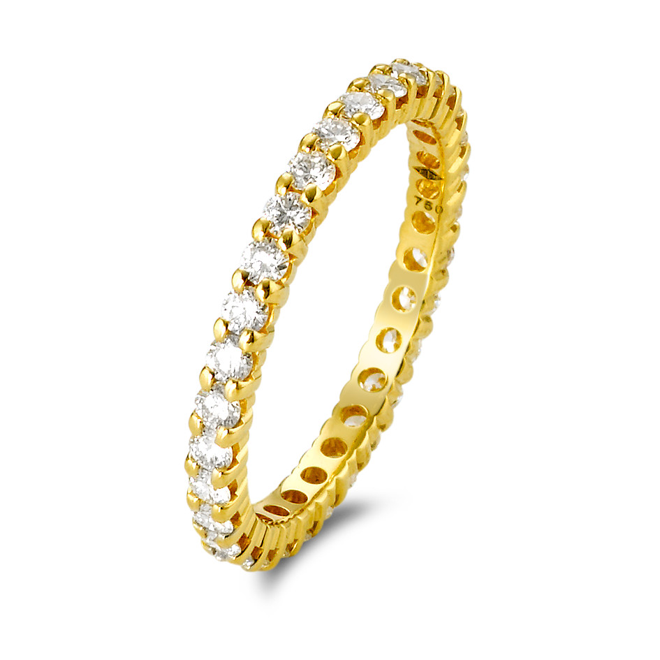 Ehering Gold mit Diamanten-351148